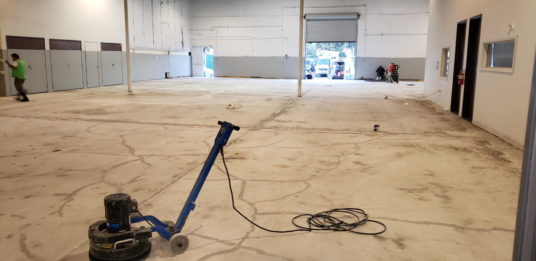 This is a picture of concrete coatings.